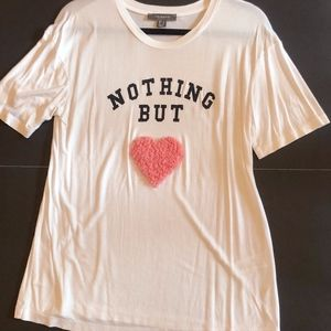 "Primark | ""Nothing But Love"" Graphic Tee"